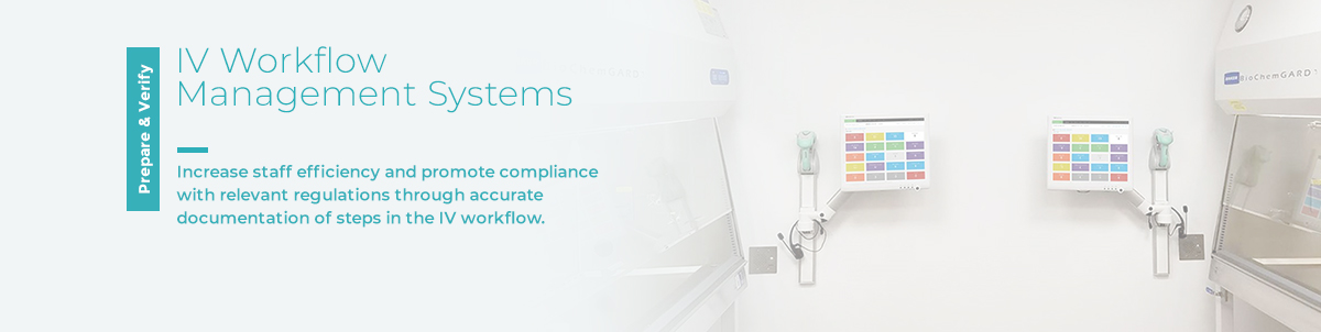 Pharmacy software for IV compounding